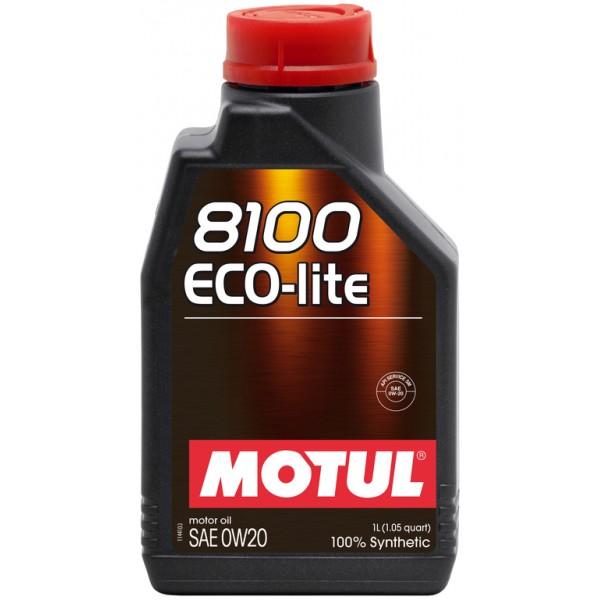 MOTUL 8100 Eco-lite 0W-20 1л