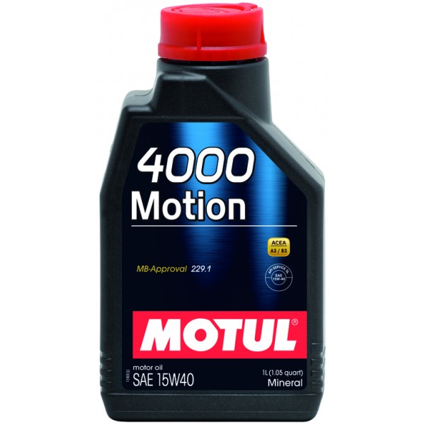 4000 Motion 15W40 1л