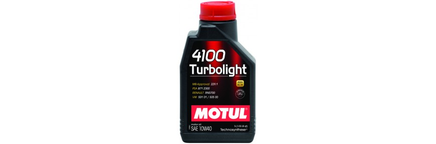 Моторное масло Motul 4100 Turbolight 10w40 60л - фото 9