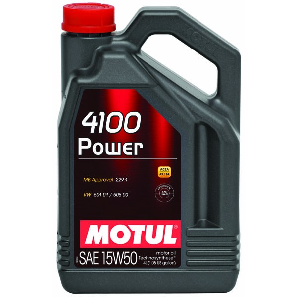 MOTUL 4100 Power 15W50 4л
