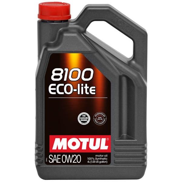 MOTUL 8100 ECO-lite 0W20 4л