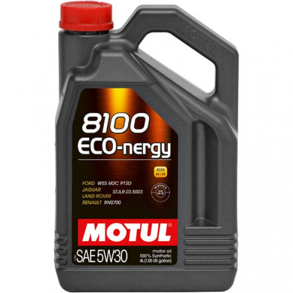 MOTUL 8100 ECO-nergy 5W30 4л