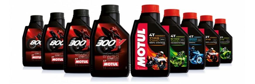 Моторные масла для мотоциклов 4T