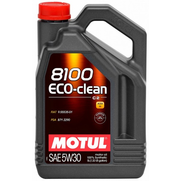 MOTUL 8100 Eco-clean 5W30 C2 5л