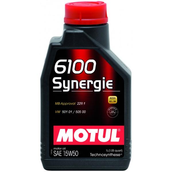 Motul 6100 Synergie 15W50 1л