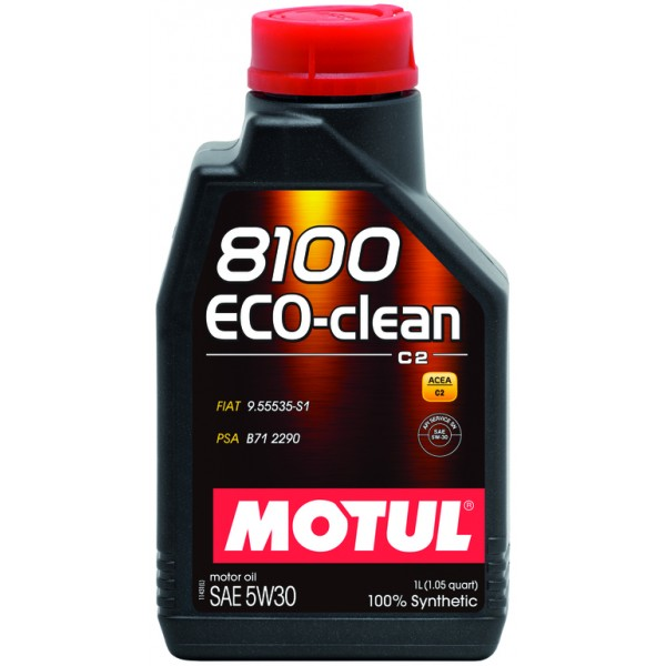 MOTUL 8100 Eco-clean 5W30 C2 1л