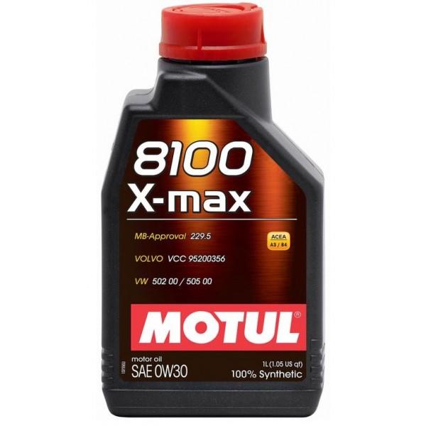 Motul 8100 X-Max 0W30 1л