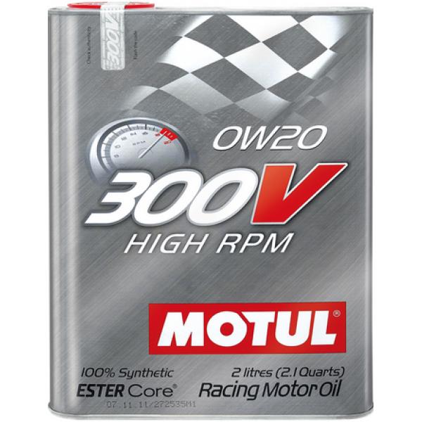 MOTUL 300V High RPM 0W-20 2л