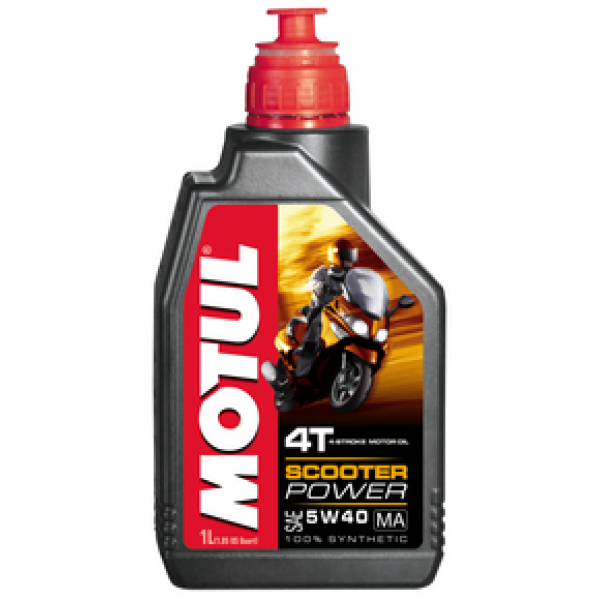 MOTUL SCOOTER POWER 4T MA 5W40 1л