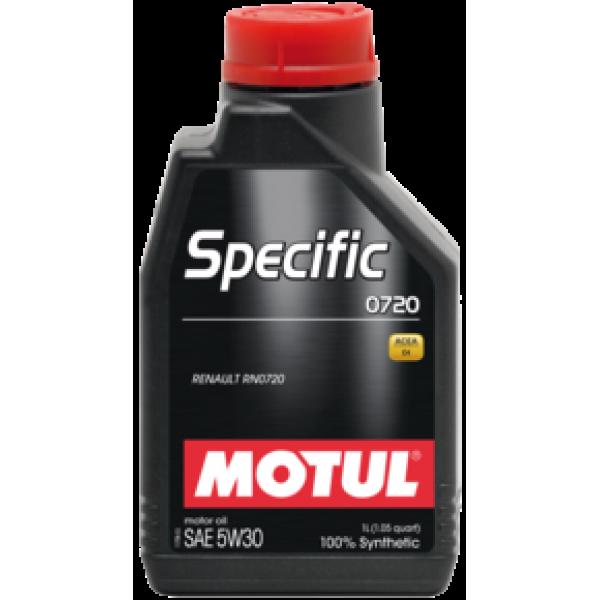 MOTUL SPECIFIC 0720 5W30 1л