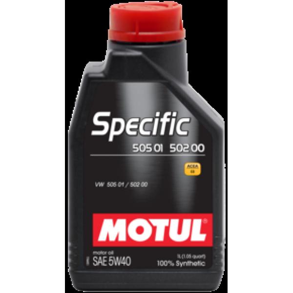 MOTUL Specific 505.01-502.00 5W40 1л