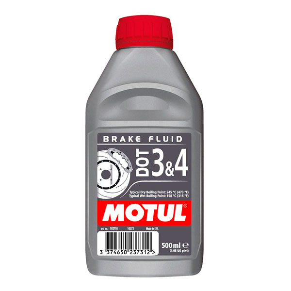 MOTUL DOT 3/4 Brake Fluid 0,5л