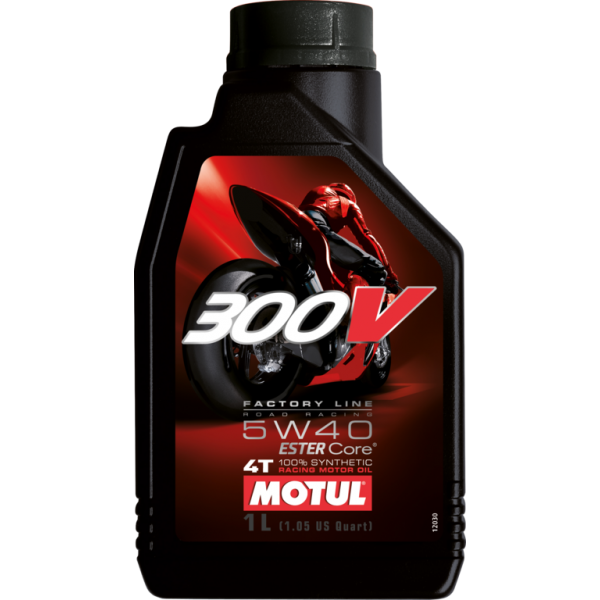 MOTUL 300V 4T  FL ROAD RACING 5W40 1л