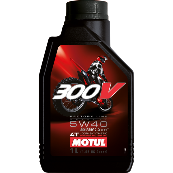 MOTUL 300V 4T OFF ROAD 5W40 1л