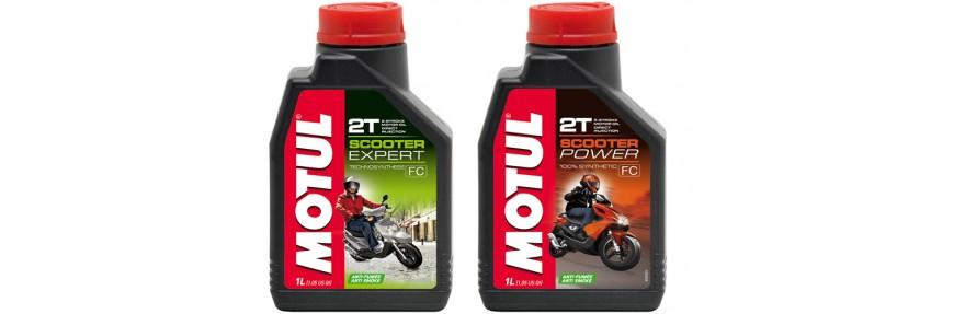 Моторные масла для скутера 2T