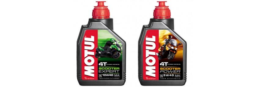 Моторные масла для скутера 4T