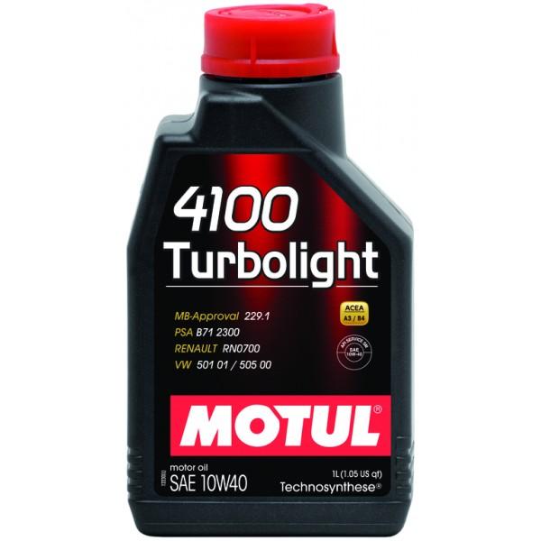 Motul 4100 Turbolight 10W-40 1л