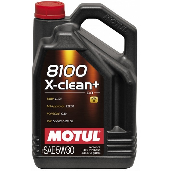 Motul 8100 X-clean plus 5W30 5л