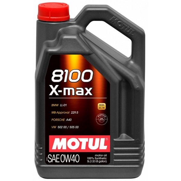 MOTUL 8100 X-MAX  0W40 5л