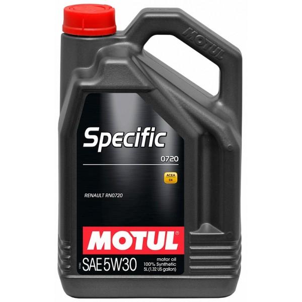 MOTUL SPECIFIC 0720 5W30 5л
