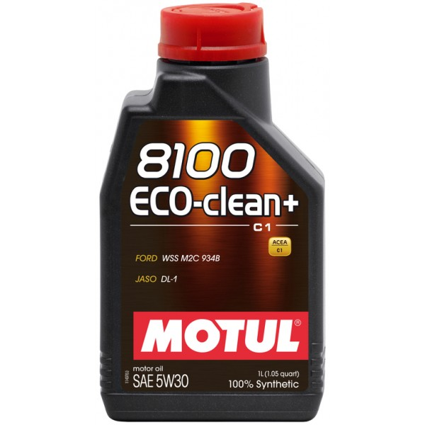 MOTUL 8100 Eco-clean 5W30 C1 1л