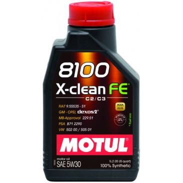 Motul 8100 X-clean FE 1л