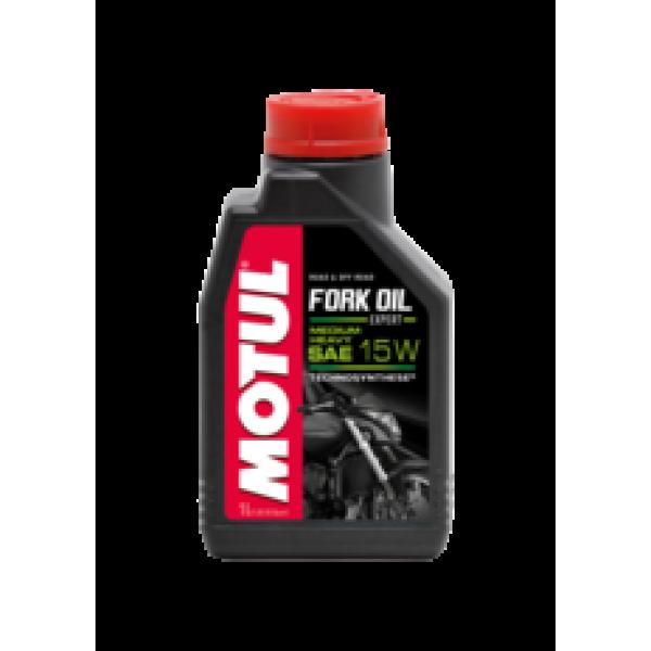 Motul fork oil expert medium heavy 15w 1л